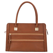 Buy Collection WEEKEND by John Lewis Medium Double Zip Leather Shoulder Bag Online at johnlewis.com
