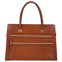 Buy COLLECTION by John Lewis Large Double Zip Leather Shoulder Bag Online at johnlewis.com