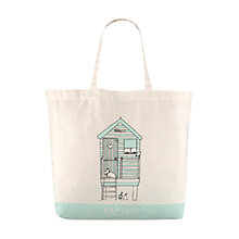 Buy Radley Colby Large Cotton Shopper Handbag, Natural Online at johnlewis.com