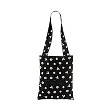 Buy Radley Hibbert Foldaway Tote, Black Online at johnlewis.com