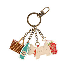 Buy Radley Picnic Hamper Leather Key Ring, Mult Online at johnlewis.com