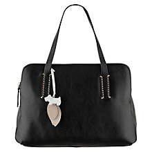 Buy Radley Bayer Leather Bowler Grab Handbag Online at johnlewis.com