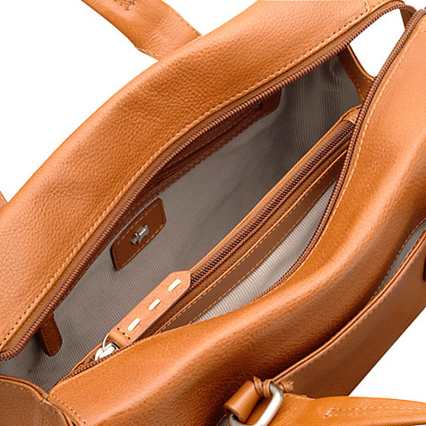 Buy Radley Barnsley Leather Medium Zipped Multiway Grab Handbag Online at johnlewis.com