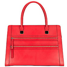 Buy Collection WEEKEND by John Lewis Large Double Zip Leather Shoulder Bag Online at johnlewis.com