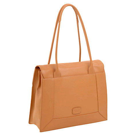 Buy Radley Border Large Flapover Tote, Tan Online at johnlewis.com