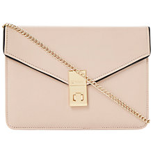 Buy Dune Blockies Leather Clutch Handbag Online at johnlewis.com