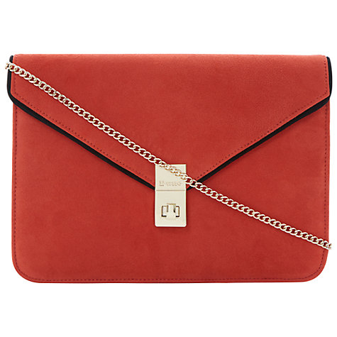 Buy Dune Blockies Leather Clutch Bag Online at johnlewis.com
