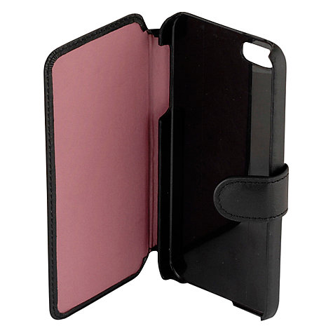 Buy Radley Walk The Walk iPhone Case, Black Online at johnlewis.com