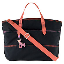 Buy Radley Forbes Medium Zip Multi-way Crinkle Nylon Tote Handbag Online at johnlewis.com
