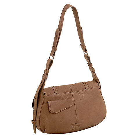 Buy Radley Grosvenor Medium Leather Flap Shoulder Bag Online at johnlewis.com