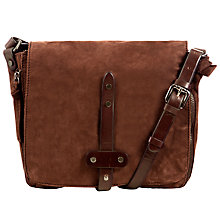 Buy Collection WEEKEND by John Lewis Linden Triple Across Body Leather Bag Online at johnlewis.com