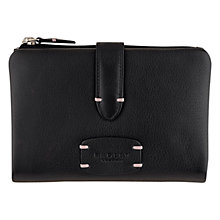 Buy Radley Cirencester Leather Medium Purse, Black Online at johnlewis.com