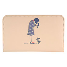 Buy Radley Snap Happy Leather Zip Purse, Medium Online at johnlewis.com