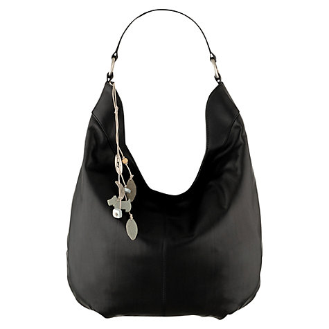 Buy Radley Johnston Large Shoulder Bag, Black Online at johnlewis.com