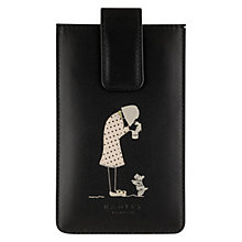 Buy Radley Snap Happy Phone Case, Black Online at johnlewis.com
