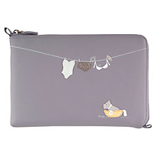Buy Radley Clean As A Whistle Kindle Cover, Purple Online at johnlewis.com