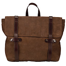 Buy Collection WEEKEND by John Lewis Lindfield Leather Rucksack, Brown Online at johnlewis.com