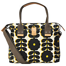 Buy Orla Kiely Laminated Wildflower Handbag, Bumblebee Online at johnlewis.com