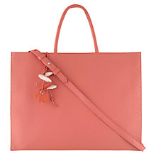 Buy Radley Broad Leather Large Ziptop Shoulder Bag Online at johnlewis.com