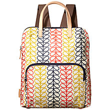 Buy Orla Kiely Linear Stem Backpack Online at johnlewis.com