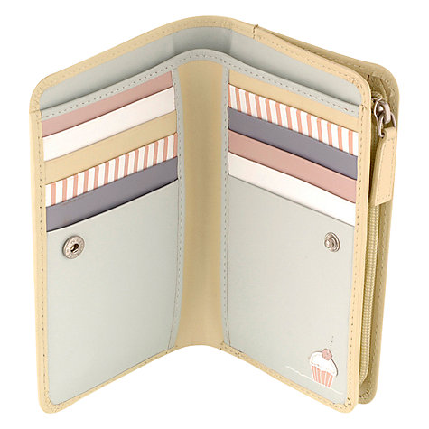 Buy Radley Patisserie Leather Medium Zip Wallet Online at johnlewis.com
