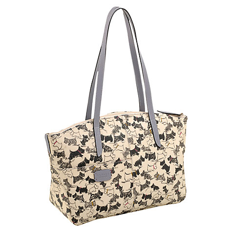 Buy Radley Doodle Dog Medium Tote Bag, Ivory Online at johnlewis.com
