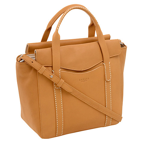 Buy Radley Hinton Leather Grab Handbag Online at johnlewis.com