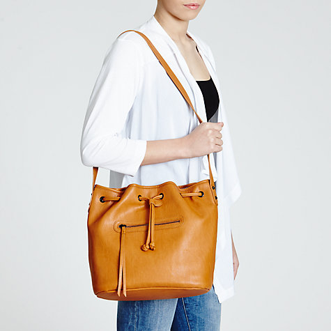 Buy Collection WEEKEND by John Lewis Grainy Eyelet Hobo Bag Online at johnlewis.com