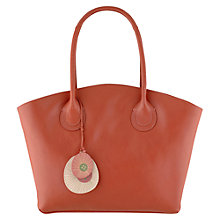 Buy Radley Overton Large Leather Zip Tote Handbag Online at johnlewis.com