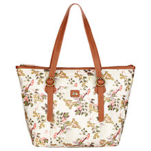 Buy Nica Play Aleks Shopper Bag, Light Vintage Botanic Online at johnlewis.com