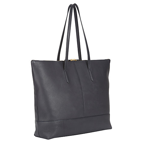 Buy Jaeger Harper Leather Zip Tote Bag Online at johnlewis.com