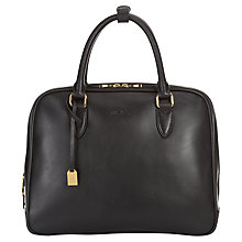 Buy Jaeger Attwell Leather Bowling Bag Online at johnlewis.com