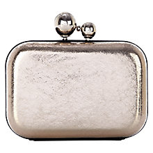 Buy Coast Muriel Clutch, Silver Online at johnlewis.com
