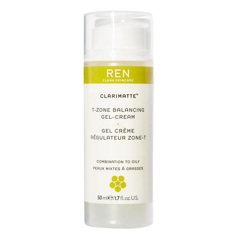 REN REN Clarimatte T-Zone Balancing Gel Cream, 50ml