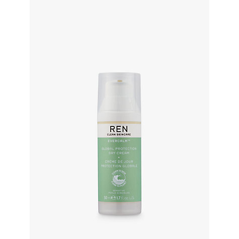 Buy REN Evercalm Hydra-Calm Global Protection Day Cream, 50ml Online at johnlewis.com