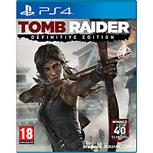 Buy Tomb Raider Definitive Edition with Collector's Artbook, PS4 Online at johnlewis.com