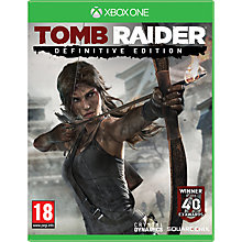Buy Tomb Raider Definitive Edition with Collector's Artbook, Xbox One Online at johnlewis.com