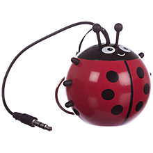Buy KitSound Mini Buddy Ladybird Speaker Online at johnlewis.com