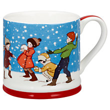 Buy Belle & Boo Snowball Fight Christmas Mug Online at johnlewis.com