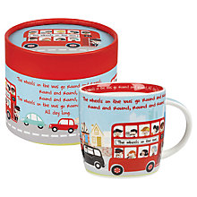 Buy Churchill Wheels on the Bus Mug in a Box Online at johnlewis.com