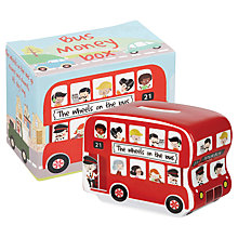 Buy Churchill Wheels on the Bus Money Box Online at johnlewis.com