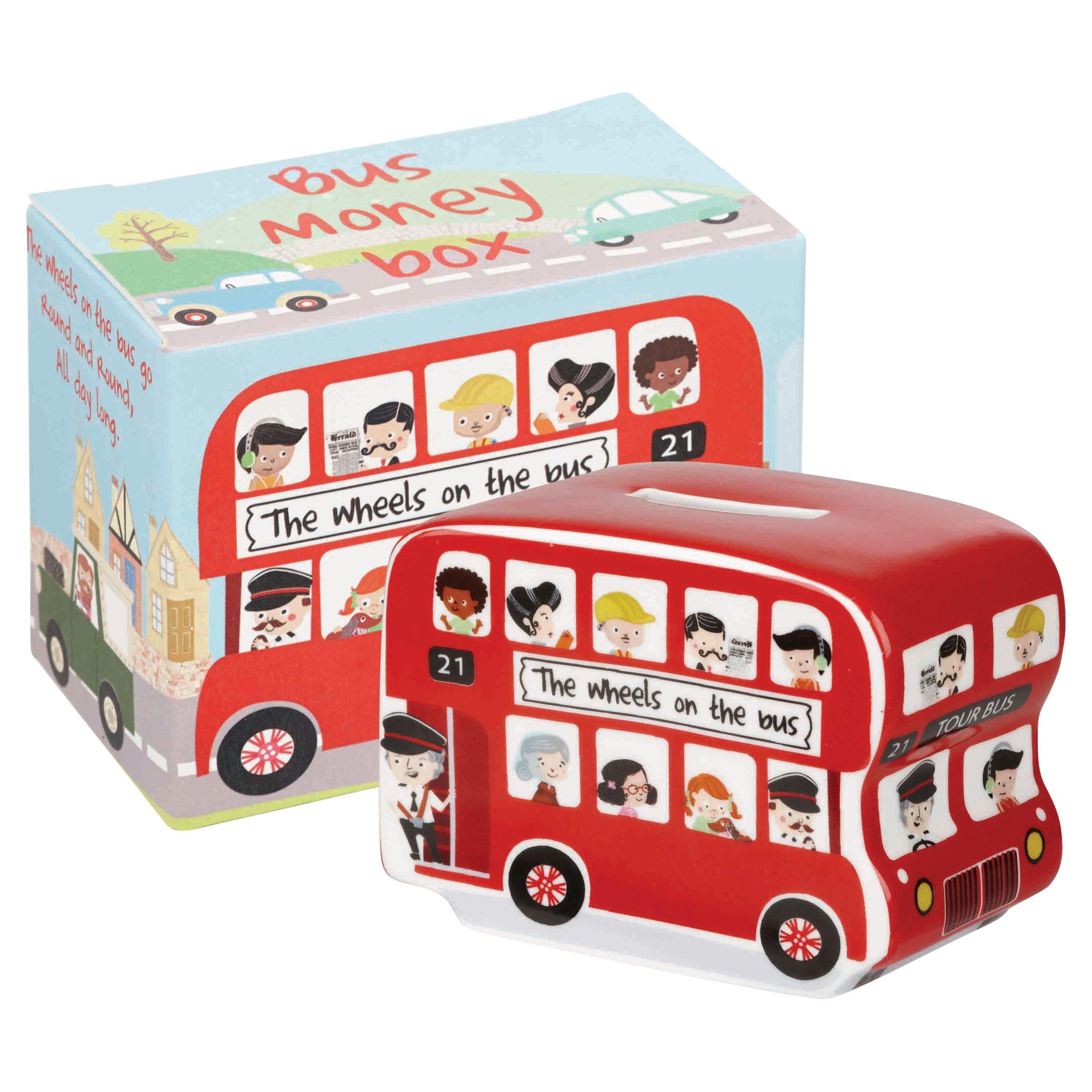 Churchill Churchill Wheels on the Bus Money Box