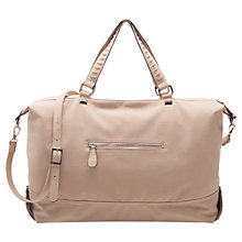 Buy French Connection Lola Tote Handbag, Cream/Natural Online at johnlewis.com