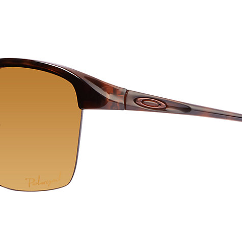 Buy Oakley 0OO9191 Half Framed Round Sunglasses Online at johnlewis.com