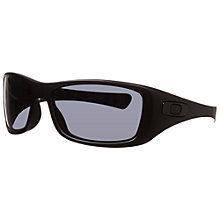 Buy Oakley 0oo9021 12-929 Square Frame Sunglasses, Black Online at johnlewis.com