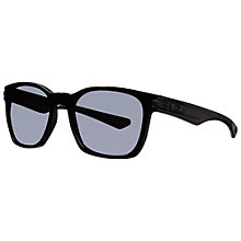 Buy Oakley 0oo9175 D-Frame Rectangle Sunglasses, Polished Black Online at johnlewis.com