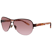 Buy Ralph by Ralph Lauren Metal Frame Aviator Sunglasses Online at johnlewis.com