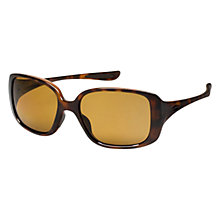 Buy Oakley 0OO9193 Square Sunglasses, Tortoiseshell Online at johnlewis.com