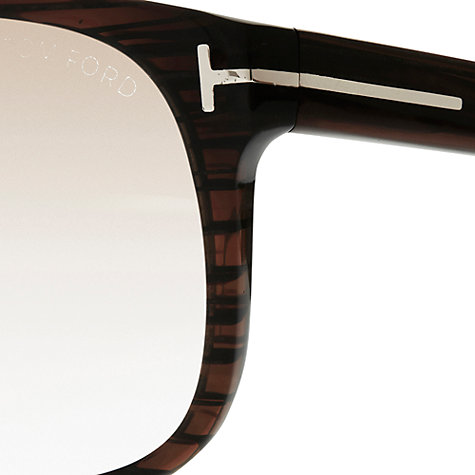 Buy TOM FORD TF0319 32B D-Frame Acetate Sunglasses, Havana Online at johnlewis.com