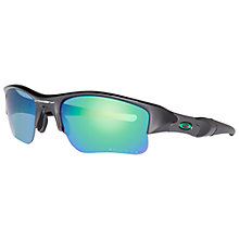 Buy Oakley OO9009 Square Sunglasses, Polished Black Online at johnlewis.com